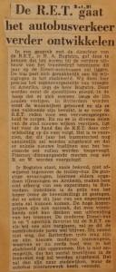 19510201-RET-ontwikkelt-autobusverkeer-verder, Verzameling Hans Kaper