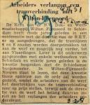 19510208 Arbeiders verlangen tramverbinding