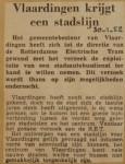 19520130-Vlaaqrdingen-krijgt-een-stadslijn, Verzameling Hans Kaper