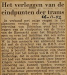 19521126-Verlegging-eindpunt-Schiedam, Verzameling Hans Kaper