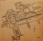 19530805-Plattegrond-nieuw-Stationsplein, Verzameling Hans Kaper