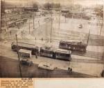 19541019 Nieuw stationsplein in gebruik