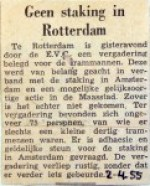 19550204 Geen staking in Rotterdam