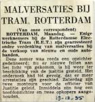 19551219 Malversaties bij tram Rotterdam