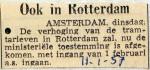 19570111 Ook in Rotterdam hogere tarieven