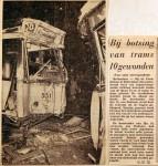 19621212 Bij botsing van trams 10 gewonden Parksluizen