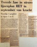 19650517 Tweede fase in nieuw lijnenplan RET