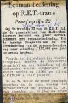 19651120 Eenmansbediening op tram.