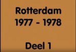 De Rotterdamse tram in 1977-1978