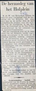 19660507 Heraanleg Hofplein.