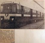 19660518 Eerste metrotreinstel komt aan