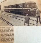 19660518 Het eerste metro-treinstel