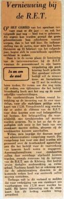 19670410 Vernieuwing bij de RET