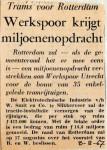 19670808 Werkspoor krijgt miljoenenopdracht voor trams