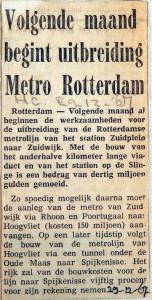 19671229 Volgende maand uitbreiding metro
