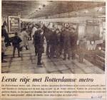 19680104 Eerste rit met Rotterdamse metro