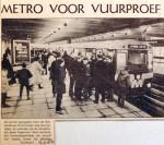 19680104 Metro voor vuurproef