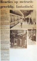 19680104 Reacties op metrorit geweldig