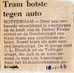19680110 Tram botste tegen auto Jonker Fransstraat