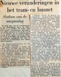 19680112 Nieuwe veranderingen in tram en busnet