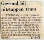 19680131 Gewond bij uitstappen tram