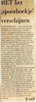 19680208 RET liet spoorboekje verschijnen