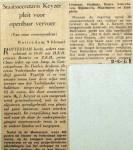 19680209 Staatssecretaris pleit voor Openbaar Vervoer
