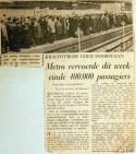 19680212 Metro vervoerde dit weekeinde bijna 400.000 passagiers