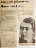 19680215 Wim geeft primeur metro-rit niet prijs