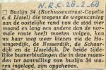 19680228 Lijn 34 weer langs oude route (NRC)