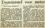 19680617 Tramtunnel voor metro