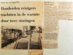 19680702 Metro kon niet tegen de hitte