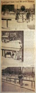 19680730 Coolsingel baan voor 80 meter horden