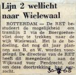 19680730 Lijn 2 wellicht naar Wielewaal
