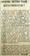 19680829 Spoedig metro naar Alexanderstad