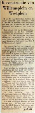 19680831 Reconstructie Willemsplein en Westplein