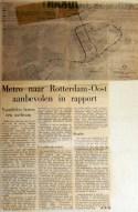 19680904 Metro naar Rotterdam Oost aanbevolen