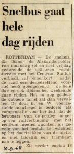 19680910 Snelbus gaat hele dag rijden