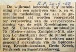 19680920 Wijkraad stemt in met doortrekking buslijn 70 (Parool)
