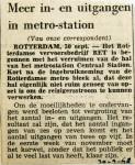 19680930 Meer in en uitgangen metrostation Centraal