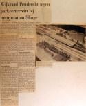 19681015 Wijkraad Pendrecht tegen parkeerterrein bij Slinge
