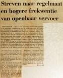 19681026 Streven naar regelmaat en hogere frequentie
