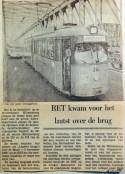 19681104 RET kwam voor het laatst over de brug
