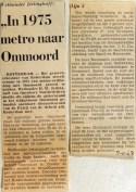 19681105 In 1975 metro naar Ommoord