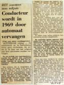19681122 Conducteur wordt in 1969 door automaat vervangen