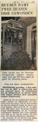 19681125 RET bus ramt twee huizen Ozingastraat