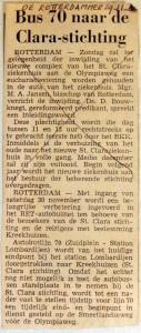 19681129 Bus 70 naar Clara-Stichting (Rotterdammer)