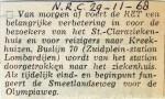 19681129 Buslijn 70 naar Claraziekenhuis (NRC)