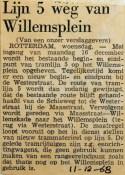 19681211 Lijn 5 weg van Willemsplein