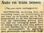 19681212 Auto en tram botsen Wolphaertsbocht